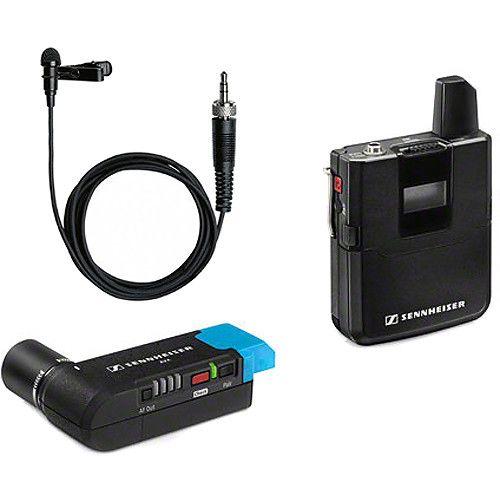 Sennheiser AVX Camera-Mountable Lavalier Digital Wireless Set (ME2 Lavalier)