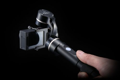 Feiyu Tech G4 3-Axis Handheld Gimbal for GoPro Hero4/3+/3 and Other Sports Cameras of Similar Size