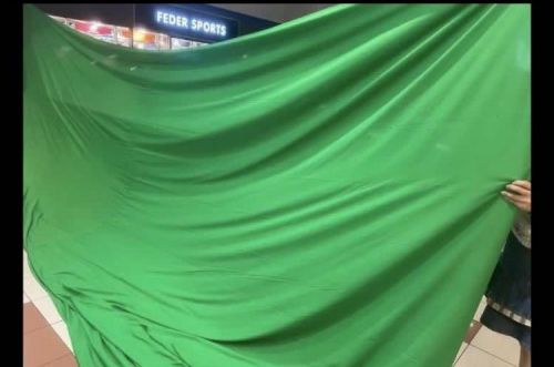 9m x 6m Virtual  Green  cloth