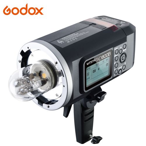 Godox Wistro AD600B TTL All-in-One Portable Outdoor GN87 Flash with 2.4G X System High-speed Sync 1/8000s Studio Strobe Flash Head for Bowen Mount Build-in 8700mAh Li-on Battery Flashlight Speedlight for Canon E-TTL II for Nikon i-TTL