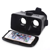 DIY 3D Glasses Movie Game Video Glasses Head Mount with Headband Virtual Reality CST-06 Google Cardboard Version 3D VR Glasses