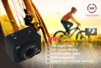 Newest 360 Degree All View 1080P HD Sport Action Sweep Panoramic Camera Mini Helmet Video Recorder Bike DVR sport cam