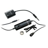 ATR3350iS Omnidirectional Condenser Lavalier Microphone for Smartphones