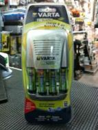 Varta 15 Minute Ultra Fast Charger Including 4 x AA Rechargeable Batteries