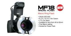 Nissin MF18 Macro Ring Flash (Canon)
