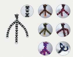 Medium flexible tripod