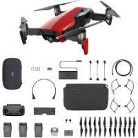 DJI Mavic Air Fly More Combo (Flame Red  only )