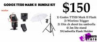 Godox TT520 Mark II bundle kit