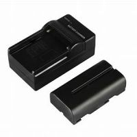 Battery Charger + NP-F550 Rechargeable Battery for LED Video Light
